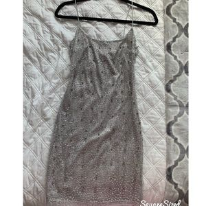 White Fox Boutique sequin dress